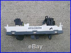 01 03 Pontiac Grand Prix A/c Heater Climate Temperature Control P/n 10308119