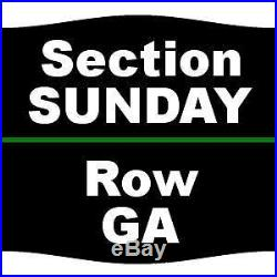 1-12 Tickets Formula One United States Grand Prix Sunday 10/22/17 Circuit of T
