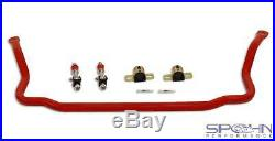 1.375 Front & 1.00 Rear Chrome Moly Sway Bars Set with Spherical Front End Links