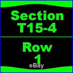 1-5 Tickets Formula One United States Grand Prix Sunday Stevie Wonder Perform