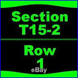 1-6 Tickets Formula One United States Grand Prix 3 Day Pass Justin Timberlake