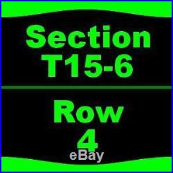 1-6 Tickets Formula One United States Grand Prix Saturday Justin Timberlake P