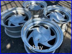 15 Vintage Wheels Rims Alloy Mag American Racing Blade Directional Ar214