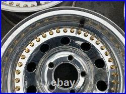 15 Vintage Wheels Rims Alloy Mag American Racing Modular Centerline