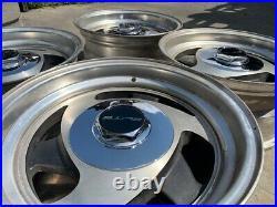 15 Vintage Wheels Rims Alloy Mag American Racing Tri Spoke Blade Directional