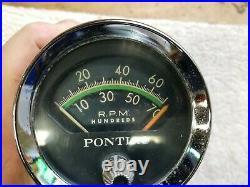 1963 1964 Pontiac Tachometer Tach Bonneville Grand Prix Catalina 2+2 389 421
