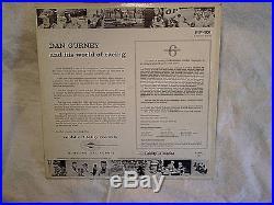 1965 DAN GURNEY RACING LP withBLACK & WHITE GLOSSY PHOTO INSERT, MF-101, grand prix