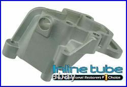 1967-70 Pontiac V8 Engine Aluminum Power Steering Alternator Lower Cast Brackets