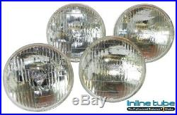 1968-71 All GM Models 5 3/4 T3 Headlights Head Lights Set of 4 Low & High Beam