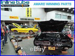 1968-72 GM A Body Chevelle GTO 442 GS Black NON AC Interior Lower Kick Panels RL