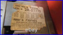 1969 1970 Gto Tempest Grand Prix 2- Piece Am Fm Stereo Radio Serviced Warranty