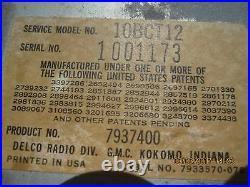1971 1972 Pontiac Delco Factory Cassette Player GTO Grand Prix Judge LeMans 71