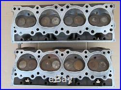 1971 99 PONTIAC CYLINDER HEADS PAIR 98cc 389/400/428/455 FIREBIRD LEMANS TEMPEST