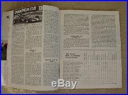 1972 US United States Grand Prix Program Watkins Glen Stewart Brabham Revson
