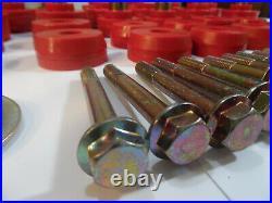 1978-1988 G-Body Reproduction Polyurethane Body Mount Bushings & Bolts Red