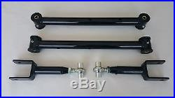 1978-1988 G Body Tubular Lower and Adjustable Upper Control Arms (BLACK)