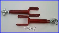 1978-1988 G Body Tubular Lower and Adjustable Upper Control Arms Hardware (RED)