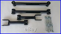 1978-1988 G Body Tubular Upper and Lower Control Arms New Hardware (BLACK)