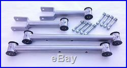1978-1988 G Body Tubular Upper and Lower Control Arms New Hardware (SILVER)