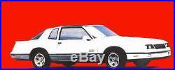 1978-1988 Monte Carlo Cutlass 442 Regal GN NOS GM Door Jam Plastic Vents