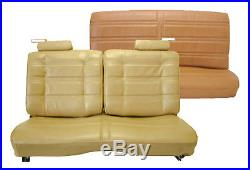 1978-80 Malibu, Monte Carlo Front Split Bench & Rear Bench Seat UPHOLSTERY KIT