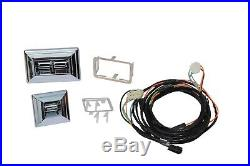 1978-87 El Camino/G-Body Power Window Kit, Front With Chrome Door Switches