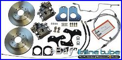 1978-88 GM A / G Body Rear Axle Drum to Disc Brake 15 Wheel Conversion Kit Set