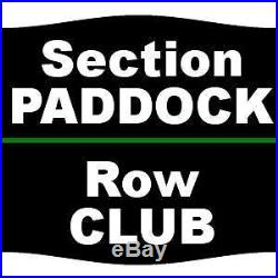 2 Tickets Formula One United States Grand Prix 3 Day Pass 10/20/17 Circuit of