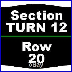 2 Tickets Formula One United States Grand Prix Sunday Stevie Wonder Performan