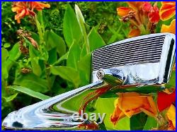 (2) Vintage 1950's 1960's Outside Rear View Mirrors