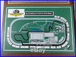 2000 Formula One SAP United States Grand Prix IMS Map Ticket Plaque