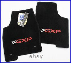 2004-2008 Pontiac Grand Prix GXP Floor Mats 4PC Silver & Red Logos IN STOCK