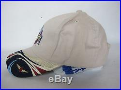 2004 Formula One Hat Indianapolis United States Grand Prix Strapback Khaki Cap