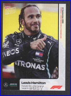 2020 Topps Now Formula One F1 003 Lewis Hamilton Tuscan Grand Prix /1915 READ