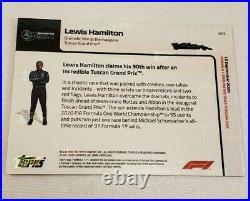 2020 Topps Now Lewis Hamilton #3 F1 Tuscan Grand Prix Formula 1 Mercedes