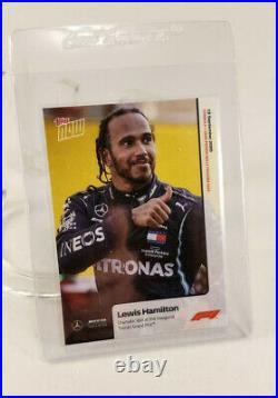 2020 Topps Now Lewis Hamilton F1 # 3 #3 Tuscan Grand Prix Formula 1 Mercedes