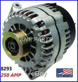 250 AMP 8293 Alternator Pontiac Grand Prix 3.8L 2004 HIGH OUTPUT NEW Performance