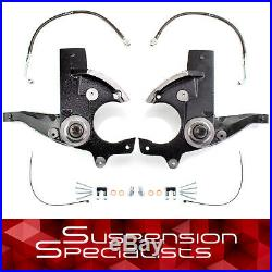 3 Front Spindle Leveling Lift Kit For Chevy Buick Pontiac Oldsmobile
