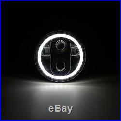 4pcs 5.75 5-3/4 Inch LED Projector Headlight H5001 H5006 For Plymout Pontiac