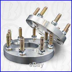 5x4.5 (5x114.3) to 8x6.5 5 Lug to 8 Lug Wheel Adapters / 1 Spacers USA x2