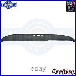 63-64 Bonneville Grand Prix Dash Board Pad Cap Cover New Black DashTop