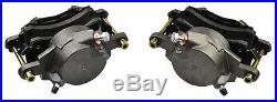 64-74 A F X Body Disc Brake Single Piston Calipers Conversion New Loaded -Pair