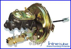 64-74 AFX-body Front Power Disc Drum Brake Conversion Preformed Line Kit Set SS