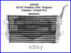 65 66 67 PONTIAC GTO Lemans 1965 1966 1967 AC Condenser a/c OEM 3003503 AC1810