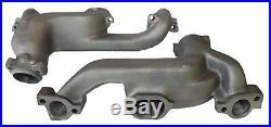 67 Pontiac GTO D-port Ram Air HO 3 Bolt Cast Iron Exhaust Manifold Headers Pipes