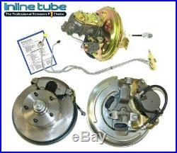 68-69 A-body Front Power Disc Brake Conversion Wheel Kit Caliper Rotor Factory