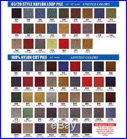 68-72 GM A-Body Carpet Set Auto -or- Manual 2 Piece 80/20 Loop Color Choice