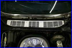 68-72 GM A-Body Cowl Vent Grill 1 pc Clear Anodized 6872CHG-00C