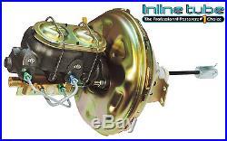 68-72 GM Abody Disc Brake Conversion 11 Power Booster Master Cylinder Valve Kit