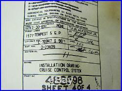 69 70 71 72 Pontiac Gto Ra III IV 455ho Judge Grand Prix Ssj Nos Cruise Control